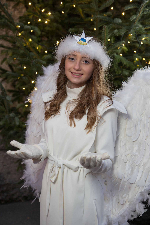 Salzburger Christkindlmarkt 2015 Engel Angela Windhofer