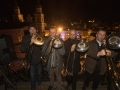 Turmbläser am Glockenspiel