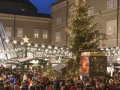 Lichterhimmel am Salzburger Christkindlmarkt