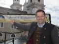 Christkindlmarkt-Obmann Wolfgang Haider freut sich auf die Eröffnung des 43. Salzburger Christkindlmarktes
