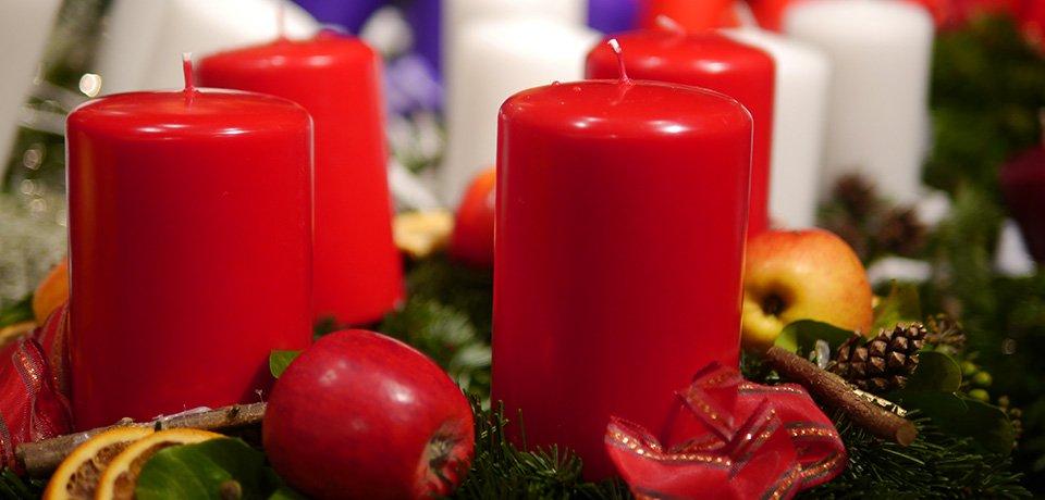 Salzburger Christkindlmarkt Adventkranz