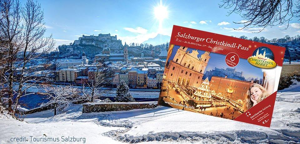 Salzburger Christkindlmarkt Christkindl Pass 2016 Reisegruppen