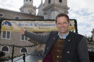 Salzburger Christkindlmarkt Foto: Neumayr/MMV 19.11.2015 Obmann Wolfgang Haider